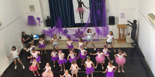 "POU ""DOM NA ŽALU"": KIDS SUMMER DANCE WORKSHOP"